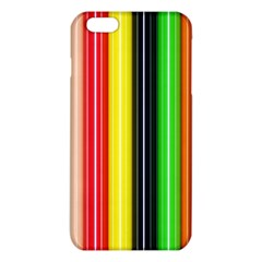 Colorful Striped Background Wallpaper Pattern Iphone 6 Plus/6s Plus Tpu Case by Amaryn4rt