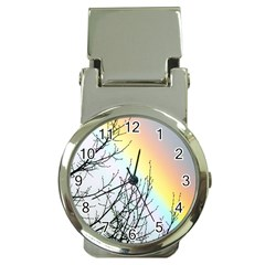 Rainbow Sky Spectrum Rainbow Colors Money Clip Watches by Amaryn4rt
