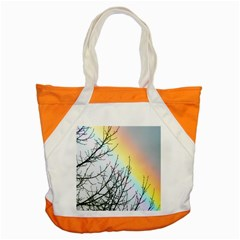 Rainbow Sky Spectrum Rainbow Colors Accent Tote Bag by Amaryn4rt