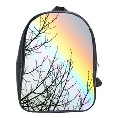 Rainbow Sky Spectrum Rainbow Colors School Bags(large)  by Amaryn4rt