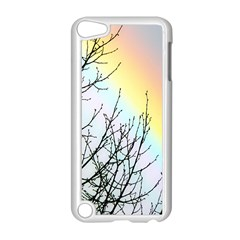 Rainbow Sky Spectrum Rainbow Colors Apple Ipod Touch 5 Case (white) by Amaryn4rt