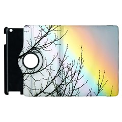 Rainbow Sky Spectrum Rainbow Colors Apple Ipad 3/4 Flip 360 Case by Amaryn4rt
