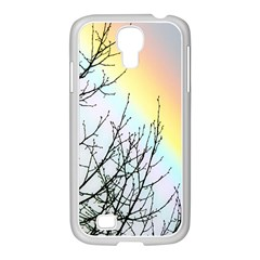 Rainbow Sky Spectrum Rainbow Colors Samsung Galaxy S4 I9500/ I9505 Case (white) by Amaryn4rt