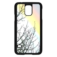 Rainbow Sky Spectrum Rainbow Colors Samsung Galaxy S5 Case (black) by Amaryn4rt