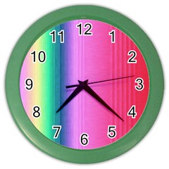 Abstract Paper For Scrapbooking Or Other Project Color Wall Clocks by Amaryn4rt