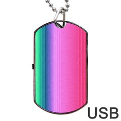 Abstract Paper For Scrapbooking Or Other Project Dog Tag Usb Flash (two Sides) by Amaryn4rt