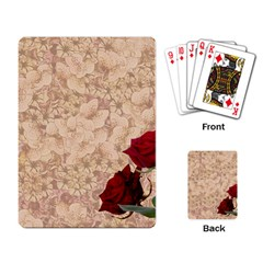 Retro Background Scrapbooking Paper Playing Card by Amaryn4rt