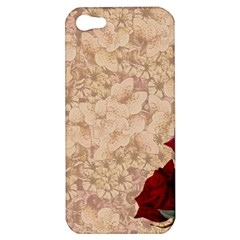 Retro Background Scrapbooking Paper Apple Iphone 5 Hardshell Case by Amaryn4rt