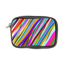 Multi Color Tangled Ribbons Background Wallpaper Coin Purse by Amaryn4rt