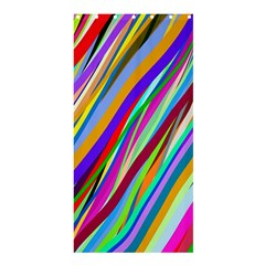 Multi Color Tangled Ribbons Background Wallpaper Shower Curtain 36  X 72  (stall)  by Amaryn4rt