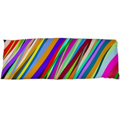 Multi Color Tangled Ribbons Background Wallpaper Body Pillow Case Dakimakura (two Sides) by Amaryn4rt