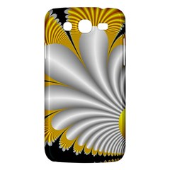Fractal Gold Palm Tree On Black Background Samsung Galaxy Mega 5 8 I9152 Hardshell Case  by Amaryn4rt