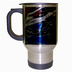 Colorful Reflections In Water Travel Mug (silver Gray) by Amaryn4rt