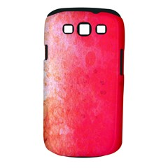 Abstract Red And Gold Ink Blot Gradient Samsung Galaxy S Iii Classic Hardshell Case (pc+silicone) by Amaryn4rt