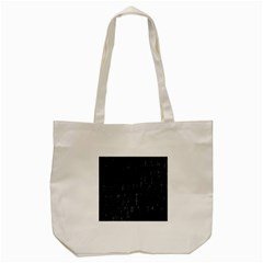 Black Burnt Wood Texture Tote Bag (cream) by Amaryn4rt