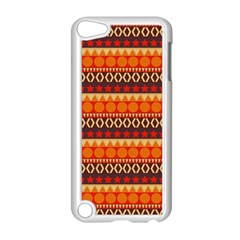 Abstract Lines Seamless Art  Pattern Apple Ipod Touch 5 Case (white) by Amaryn4rt