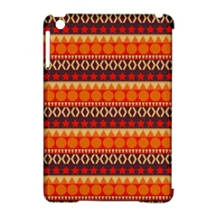 Abstract Lines Seamless Art  Pattern Apple Ipad Mini Hardshell Case (compatible With Smart Cover) by Amaryn4rt