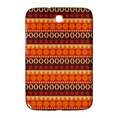 Abstract Lines Seamless Art  Pattern Samsung Galaxy Note 8 0 N5100 Hardshell Case