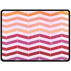 Abstract Vintage Lines Fleece Blanket (large)  by Amaryn4rt