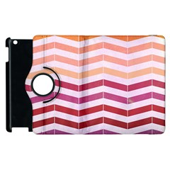 Abstract Vintage Lines Apple Ipad 2 Flip 360 Case by Amaryn4rt