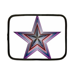 Star Abstract Geometric Art Netbook Case (small)