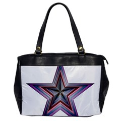 Star Abstract Geometric Art Office Handbags by Amaryn4rt