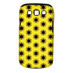 Yellow Fractal In Kaleidoscope Samsung Galaxy S Iii Classic Hardshell Case (pc+silicone) by Amaryn4rt