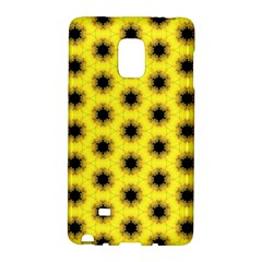 Yellow Fractal In Kaleidoscope Galaxy Note Edge by Amaryn4rt