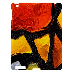Colorful Glass Mosaic Art And Abstract Wall Background Apple Ipad 3/4 Hardshell Case by Amaryn4rt