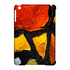 Colorful Glass Mosaic Art And Abstract Wall Background Apple Ipad Mini Hardshell Case (compatible With Smart Cover) by Amaryn4rt
