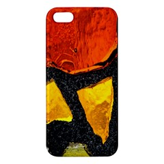 Colorful Glass Mosaic Art And Abstract Wall Background Iphone 5s/ Se Premium Hardshell Case by Amaryn4rt