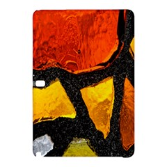 Colorful Glass Mosaic Art And Abstract Wall Background Samsung Galaxy Tab Pro 12 2 Hardshell Case by Amaryn4rt