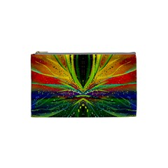 Future Abstract Desktop Wallpaper Cosmetic Bag (small)