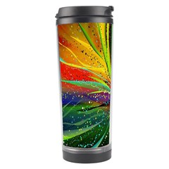 Future Abstract Desktop Wallpaper Travel Tumbler by Amaryn4rt