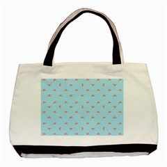 Spaceship Cartoon Pattern Drawing Basic Tote Bag (Two Sides) by dflcprints