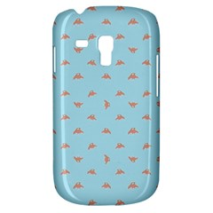 Spaceship Cartoon Pattern Drawing Galaxy S3 Mini by dflcprints