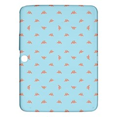 Spaceship Cartoon Pattern Drawing Samsung Galaxy Tab 3 (10 1 ) P5200 Hardshell Case  by dflcprints