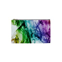 Colour Smoke Rainbow Color Design Cosmetic Bag (small)  by Amaryn4rt