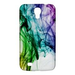 Colour Smoke Rainbow Color Design Samsung Galaxy Mega 6 3  I9200 Hardshell Case by Amaryn4rt