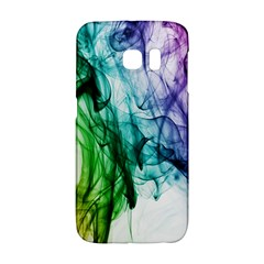 Colour Smoke Rainbow Color Design Galaxy S6 Edge by Amaryn4rt