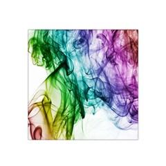 Colour Smoke Rainbow Color Design Satin Bandana Scarf by Amaryn4rt