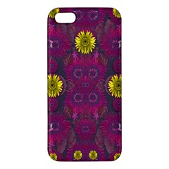 Colors And Wonderful Sun  Flowers Iphone 5s/ Se Premium Hardshell Case by pepitasart