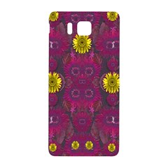 Colors And Wonderful Sun  Flowers Samsung Galaxy Alpha Hardshell Back Case by pepitasart