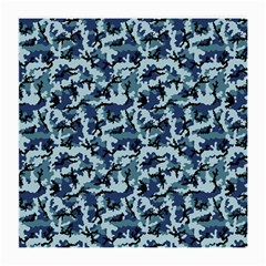 Navy Camouflage Medium Glasses Cloth (2 Side) by sifis