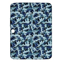 Navy Camouflage Samsung Galaxy Tab 3 (10 1 ) P5200 Hardshell Case  by sifis