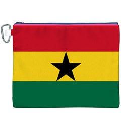 Flag Of Ghana Canvas Cosmetic Bag (xxxl) by abbeyz71