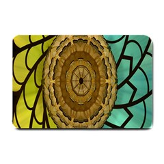 Kaleidoscope Dream Illusion Small Doormat  by Amaryn4rt