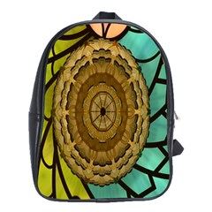 Kaleidoscope Dream Illusion School Bags(large)  by Amaryn4rt