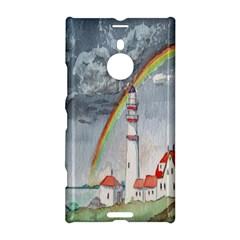 Watercolour Lighthouse Rainbow Nokia Lumia 1520 by Amaryn4rt