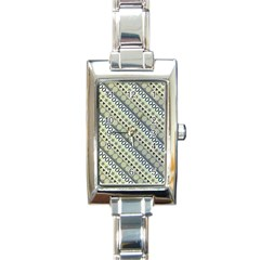 Abstract Seamless Pattern Rectangle Italian Charm Watch by Amaryn4rt
